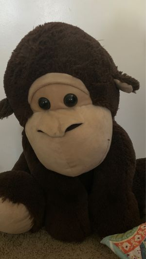 A big monkey stuffed animal for Sale in Corona, CA