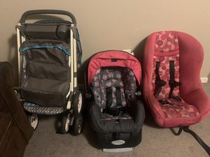 Infant car seat, Toddler car seat, Stroller for Sale in Magee, MS