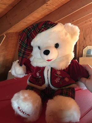 Christmas teddy bear for Sale in Galloway, OH