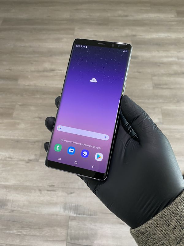 Samsung note 8 64gb Orchid gray •Clean imei • Unlocked •AT&T•Cricket• Metro • boost • Verizon • sprint • Mexico • 60 day warranty    Delivery Availab