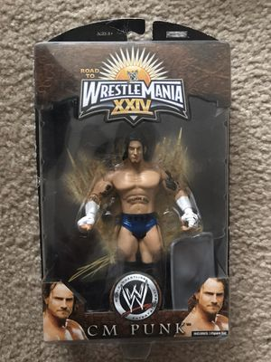 CM Punk Wrestlemania 24 action figure for Sale in Lowell, MA