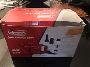 Coleman Air Mattress Quickpump for Sale in Richmond, VA