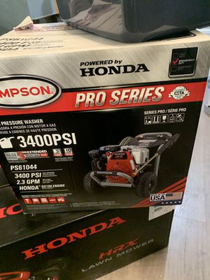 $400 pressure washer new for Sale in Lindenwold, NJ