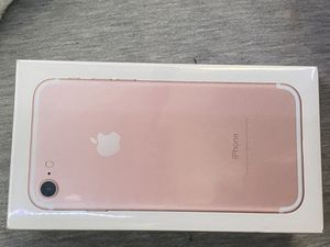 IPhone 7- Rose Gold (128g) NIB for Sale in Florence, KY