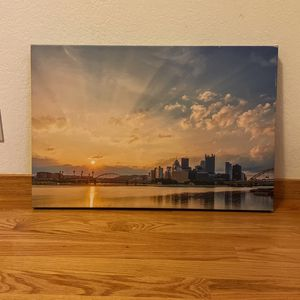 FREE Pittsburgh, PA Canvas Print for Sale in San Francisco, CA