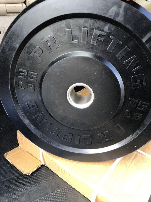 35 lbs bumper plates