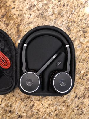 Jabra Evolve Wireless Bluetooth Headset for Sale in Fife, WA