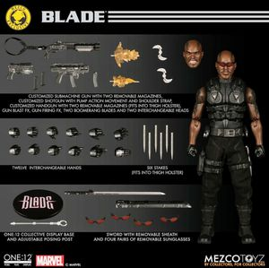 Mezco One 12 Exclusive BLADE Action Figure Set / Rare, New for Sale in The Bronx, NY