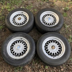 Style 5 BMW rims 15s for Sale in Puyallup, WA
