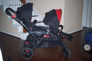 Contours option double stroller red for Sale in Houston, TX