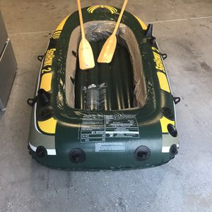 """Inter Seahawk 11'7"""" inflatable boat set for Sale in Chandler, AZ"""