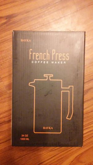 French Press Coffee Maker *NEW* for Sale in Lubbock, TX