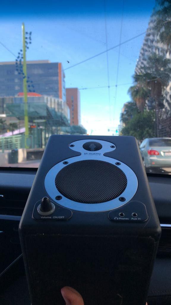 M Audio speakers