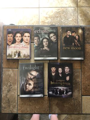 Twilight Movies DVD for Sale in Davenport, FL