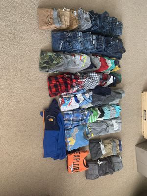 Boys 5T cloths 60 pieces for Sale in Puyallup, WA