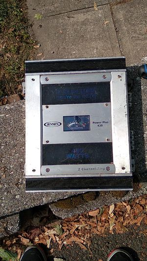 2 channel amp for Sale in Naugatuck, CT