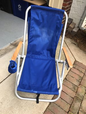 WearEver Backpack Beach Chair Folding Portable Chair for Sale in McLean, VA