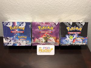 Pokémon Diamond and Pearl Platinum Series Sealed Booster Box Cards Pokemon / Charizard for Sale in Henderson, NV