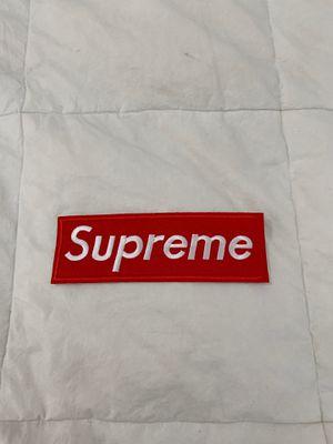 Supreme Iron on Patch Box Logo for Sale in Miami, FL