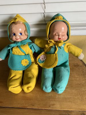 Antique Trudy Dolls & Sock Clown for Sale in Fresno, CA