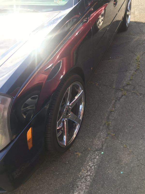 Car chrome rims