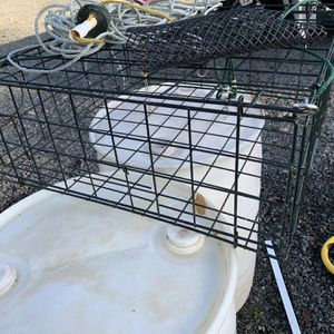 "Complete crab trap 24"" x 24"" like new for Sale in Lake Stevens, WA"