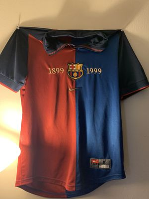 Barcelona Jersey classic 1899-1999 for Sale in North Potomac, MD