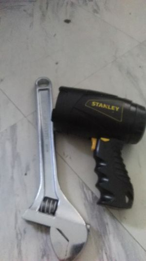 Tool and Stanley flashlight for Sale in Alexandria, VA