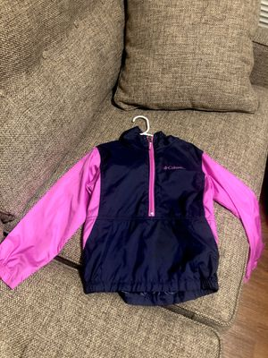Toddlergirl Columbia windbreaker jacket size 6/6x for Sale in Vancouver, WA