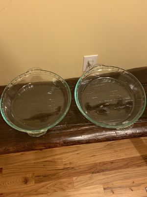 """10"""" glass pie plates for Sale in Greer, SC"""