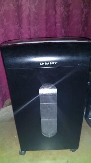 Embassy microshredder for Sale in Payson, AZ