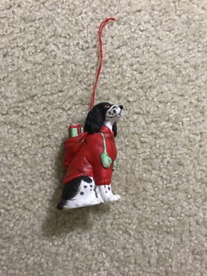 Schmid Christmas Dog with gifts and mittens - Vintage 1987 for Sale in Waukesha, WI