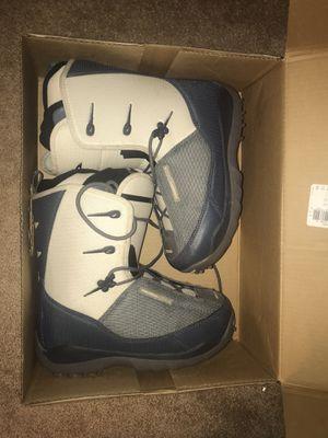 Salomon Snowboard boots women's 7.5 for Sale in Birdsboro, PA