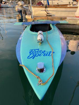 FREE SPIRIT‼️ HANDMADE 8ft fiberglass boat for Sale in Los Angeles, CA