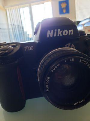 Nikon F100 Film SLR + 50mm 1.8 lens for Sale in Broomfield, CO