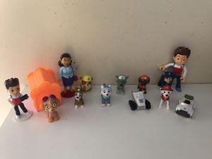 Paw patrol mini figures for Sale in Dana Point, CA