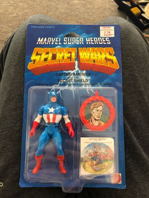 Marvel super heroes secret wars Captain America and his shield for Sale in Imperial, MO
