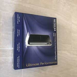 NETGEAR N900 Wireless Dual Band Gigabit Router New (WNDR4500) 900 Mbps Speed for Sale in Irvine, CA