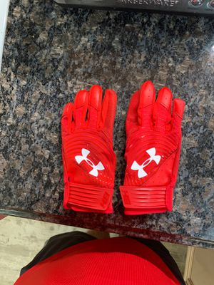 Under Armour youth size M baseball batting gloves. New without tags for Sale in Tarpon Springs, FL