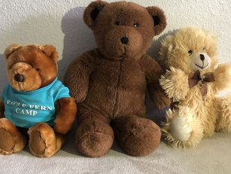 Teady Bear Plushies for Sale in Vancouver,  WA