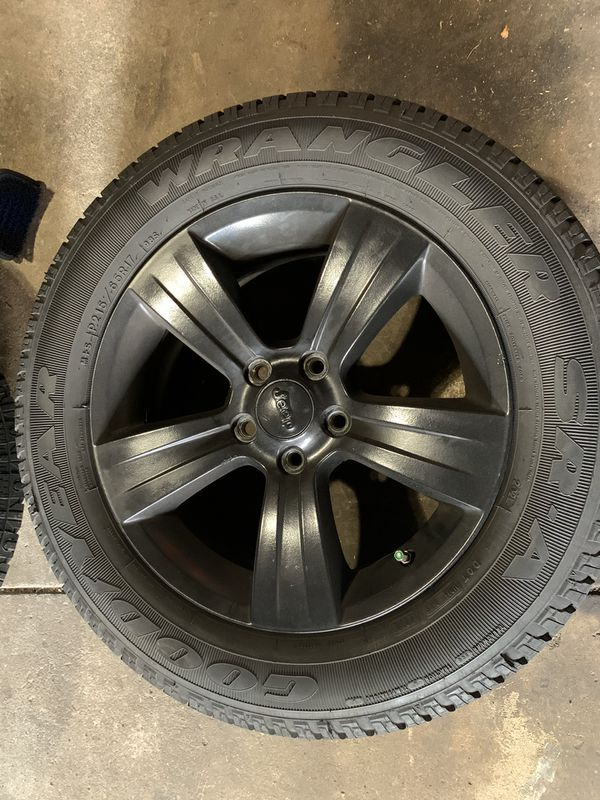 Jeep Patriot/Compass wheels and tires
