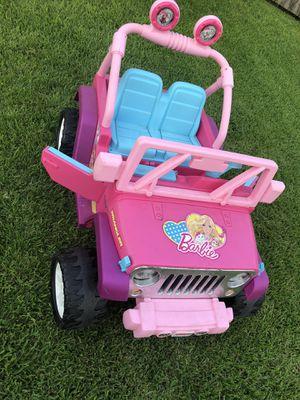 Barbie power wheels for Sale in Houston, TX