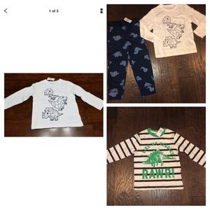 New With tags Baby Gap boys Dinosaur tees and pants 4T for Sale in Mill Creek, WA