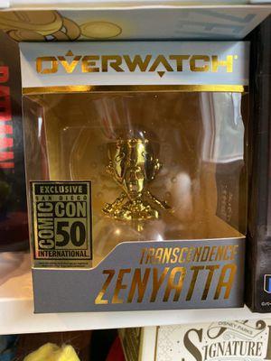 Overwatch SDCC 2019 Golden Zenyatta figure for Sale in Castro Valley, CA