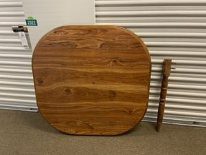 Wood kitchen table with leaf insert for Sale in Boston, MA