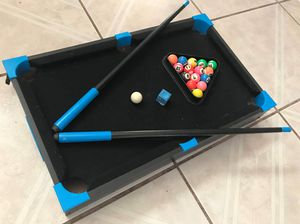 kids pool table FIRM PRICE NO DELIVERY CASH OR TRADE FOR BABY FORMULA for Sale in Los Angeles, CA