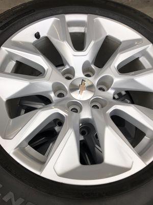 """20"""" Chevy Silverado 2019 style w Tires for Sale in Dinuba, CA"""