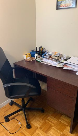 Desk and Chair for Sale in New York, NY