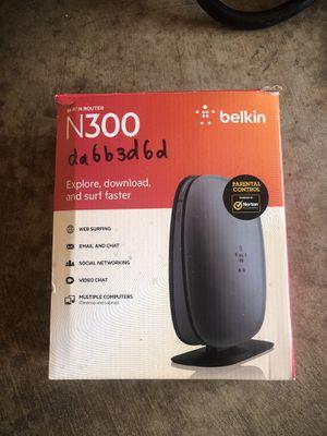 Belkin router for Sale in Portland, OR