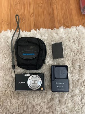 Lumix Panasonic Digital Camera (with battery charger, extra battery and pack) for Sale in San Jose, CA